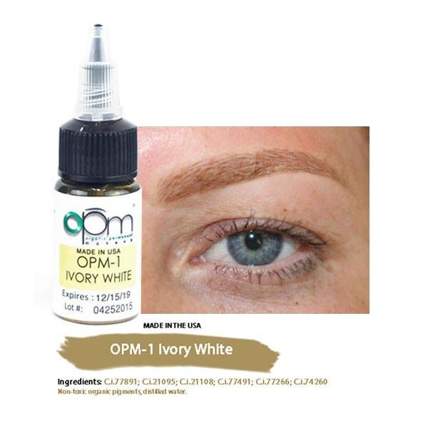 Ivory White Eyebrow Pigment